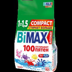 Стиральный порошок Bimax, 100 пятен, автомат