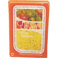 Сыр Cheese Lovers, с оливками и томатами