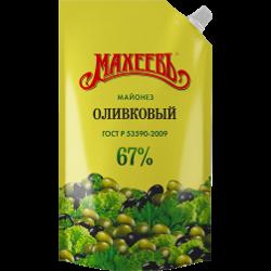 Майонез оливковый, Махеевъ, 67%