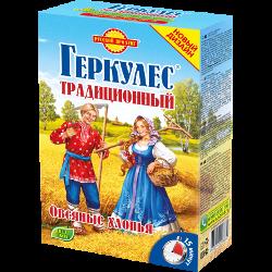 Хлопья овсяные, геркулес, традиционные, Русский продукт