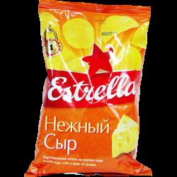 Чипсы Estrella нежный сыр