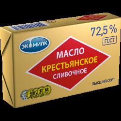 Масло Крестьянское сливочное, Экомилк