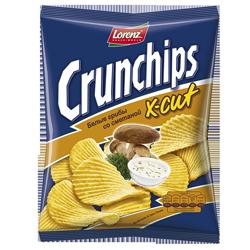 Чипсы Crunchips, сметана и грибы