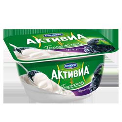 Творожный десерт Активиа, чернослив, Danone