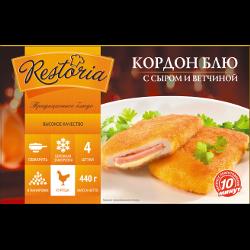 Кордон Блю Restoria, сыр и ветчина, замороженная