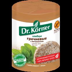 Хлебцы гречневые, с витаминами, Dr.Korner