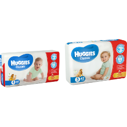 Подгузники Huggies, Classic
