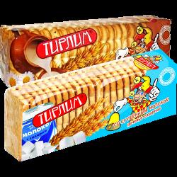 Печенье Тирлим, сгущенное молоко; мак и изюм; топленое молоко