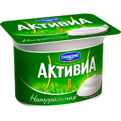 Йогурт Активиа, натуральный, Danone, 3,5%