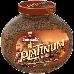 Кофе Ambassador Platinum, натуральный, растворимый