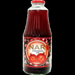 Сок Nar, гранатовый, 100%