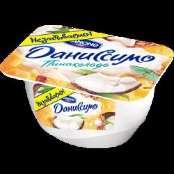 Десерт Даниссимо, пинаколада, Danone, 4,6-5,3%