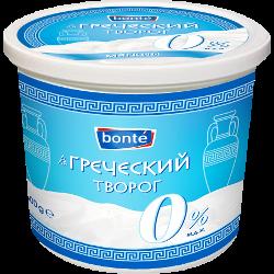 Творог Bonte, мягкий, 0%