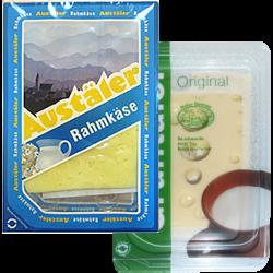 Сыр Austaler; Gruntaler, сливочный, 45-55%