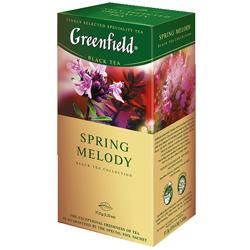 Чай Greenfield, чёрный, Spring Melody