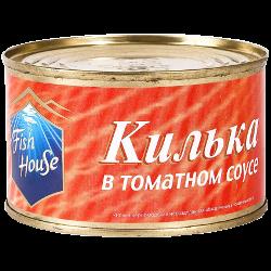 Килька Fish House в томатном соусе