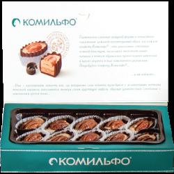 Конфеты Комильфо, крем-брюле