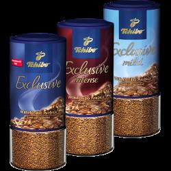 Кофе Tchibo, Exclusive; Exclusive Mild; Exclusive intensе