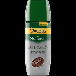 Кофе  Jacobs Monarch Millicano, натуральный, растворимый