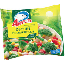 Овощи По-деревенски, 4 Сезона