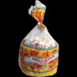 Кулич Настюша, сахарная пудра-орех