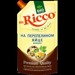 Майонез Mr.Ricco на перепелином яйце, 67%