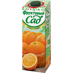 Соки и нектары Фруктовый сад, апельсин