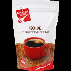 Кофе растворимый, Красная цена