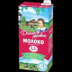 Молоко Домик в деревне, стерилизованное, 3,2%