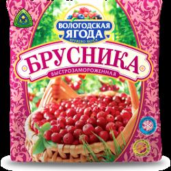 Ягоды замороженные, брусника, Вологодская ягода
