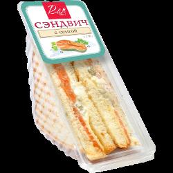 Сэндвич ROBIN BOBIN, с семгой