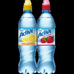 Вода Aqua Minerale ACTIVE, лимон; малина