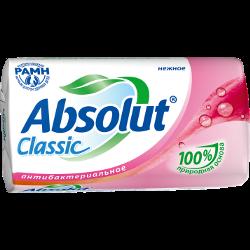 Мыло Absolut, туалетное, антибактериальное