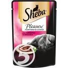 "Корм ""Sheba"" Pleasure говядина и кролик для кошек 85г"