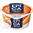 """Йогурт """"Epica"""" С красным апельсином 4.8% 130г"""
