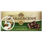 """Шоколад """"Бабаевский"""" горький с фундуком 100г"""