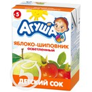 "Сок ""Агуша"" Яблоко-шиповник 200мл"