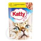 """Корм """"Katty"""" для кошек с кроликом и индейкой 85г"""