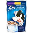 """Корм """"Felix"""" Аппетитные Кусочки С ягненком и курицей в желе для взрослых кошек 85г"""