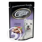 """Корм """"Cesar"""" Ягненок и овощи для взрослых собак 100г"""