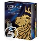 """Чай """"Richard"""" Royal Earl Grey черный 100пак*2г"""