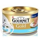 """Корм """"Gourmet"""" Gold для кошек паштет с тунцом 85г"""