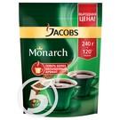 """Кофе """"Jacobs"""" Monarch растворимый 240г"""