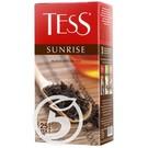 """Чай """"Tess"""" черный Sunrise Black Tea 25пак*1,8г"""