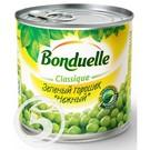 """Горошек """"Bonduelle"""" Classique зеленый Нежный 400г"""