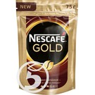 """Кофе """"Nescafe"""" Gold растворимый с добавлением натурального молотого 75г"""