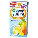 """Сок """"Фрутоняня"""" мультифруктовый 0,2л"""