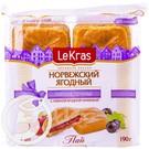 """Печенье """"Lekras"""" Норвежское ягодное 190г"""