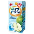 """Сок """"Фрутоняня"""" Яблочный осветленный без сахара 200мл"""