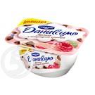 """Продукт творожный """"Даниссимо"""" Малина с шоколадной крошкой 6.2% 130г"""